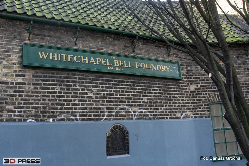 IS whitechapel bell foundry
